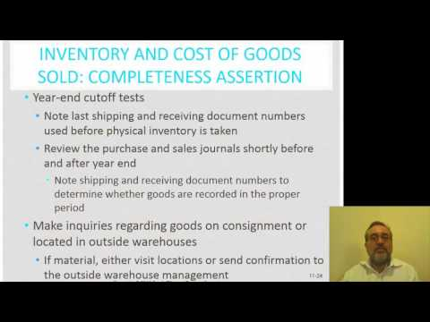 Purchase and Acquisition Substantive Testing