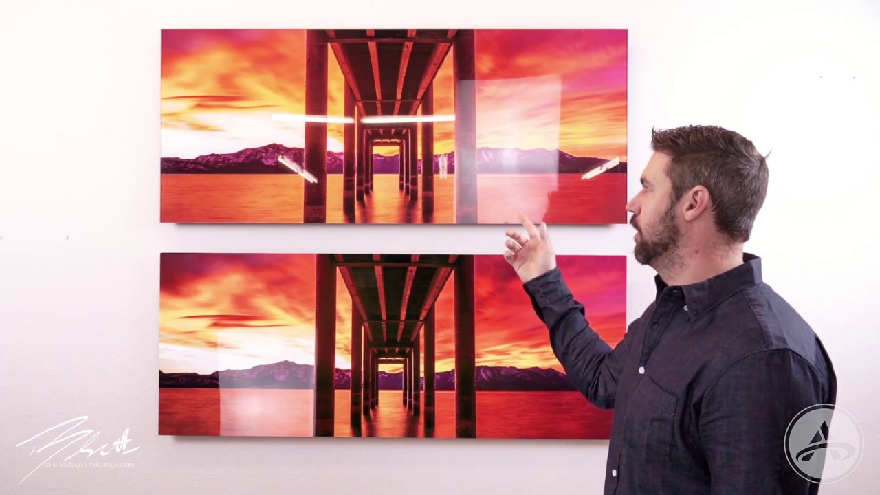 Metal prints vs acrylic prints brad scott visuals