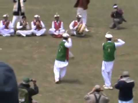Chitral Scouts Traditional dance at Broghil Festivel