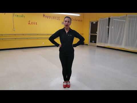 Zapateado Folklorico step tutorial - Salsa/Folkloric P.A.T.Y.'STUDIO