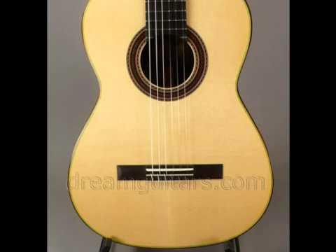 New Cervantes Signature Hauser CocoboloSpruce at Dream Guitars
