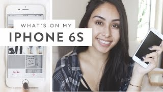 One of Jasmine Rossol's most viewed videos: What's On My iPhone 6s! + Unboxing
