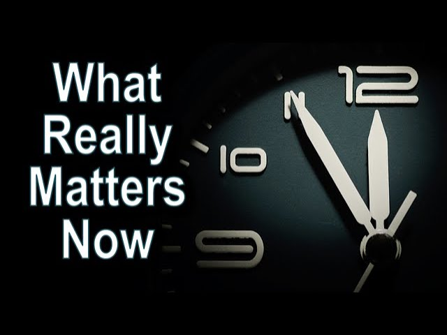 What Really Matters Now - 1 Timothy 4:7-16 – September 20th, 2020