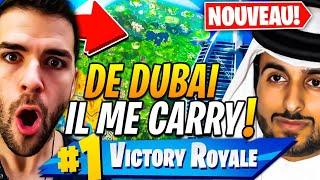 🔥DUO PRANK: UN EMIRAT DE DUBAI EST LE MEILLEUR JOUEUR DE FORTNITE QUE J'AI VU !