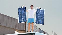 STEALTH SOLAR POWER SET UP FOR OFF GRID CAMPER VAN