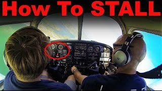 Ep. 21: How to STALL a Plane....Properly