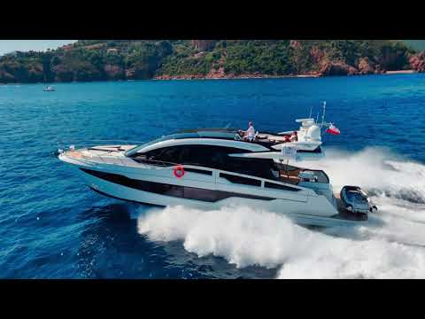 Galeon 650 SKYDECK Sea Trials in Cannes