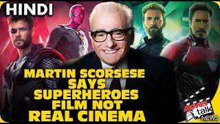 Martin Scorsese Superhero Films Controversy [Explained In Hindi]