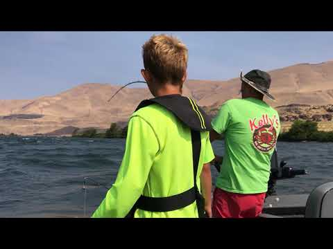 Columbia River fishing at Deschutes August 7-17, 2017