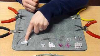 Jewelry making - DIY Project 4: Making a bracelet with multiple strands and caps Thumbnail