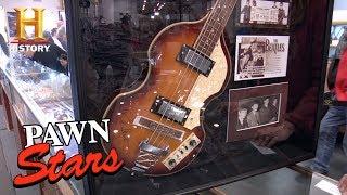 Pawn Stars: Beatlemania Memorabilia   History