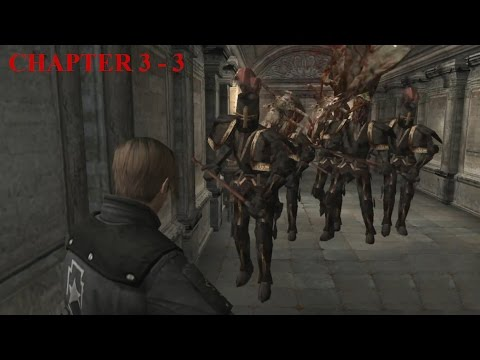 Resident Evil 4 - Story (Welcome To Hell) Mode - Chapter 3-3 (New Game - Professional) HQ