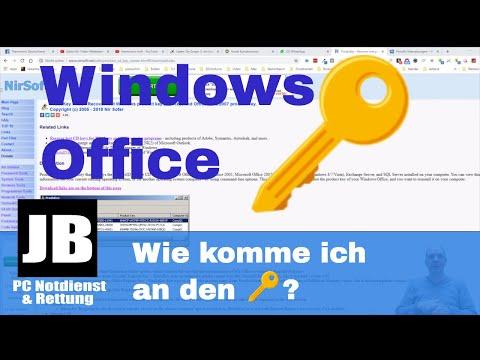 Windows & Office Key / Lizenzschlüssel Auslesen / Herausfinden