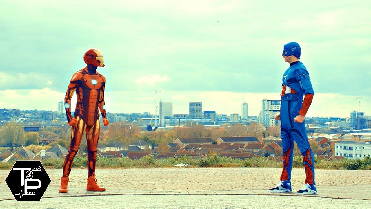 Twist and Pulse's CIVIL WAR DANCE BATTLE | Captain America vs Iron Man!
