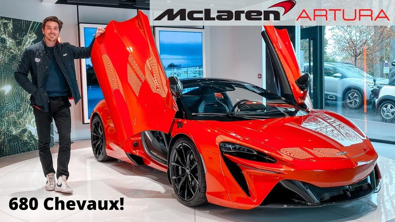 Nouvelle Artura: Le FUTUR de McLaren! 680 Chevaux sans malus