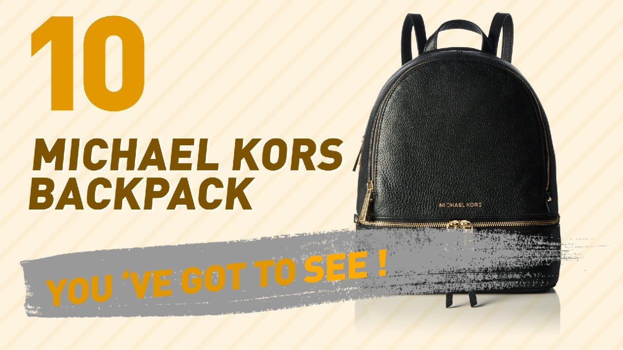 aa3315cb84b7 Michael Kors Backpack, Best Sellers Collection // Women Fashion ...
