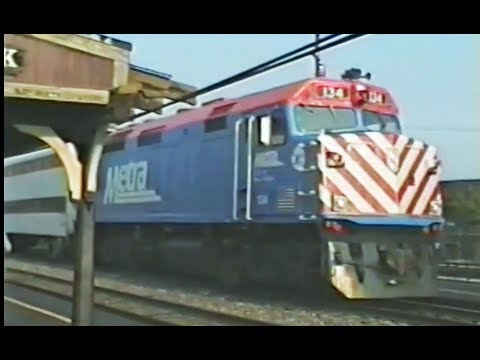 CNW Metra ride - Chicago to Oak Park round trip - Aug 22 1992