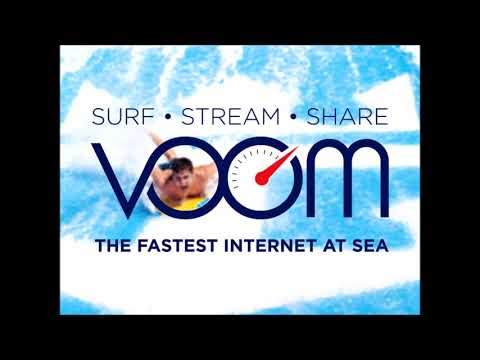 Royal Caribbean CEO on how fast Royal Caribbean's Voom internet is