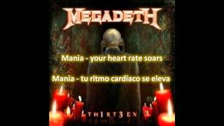 Megadeth: Deadly Nightshade(Lyrics y subtitulos en español)