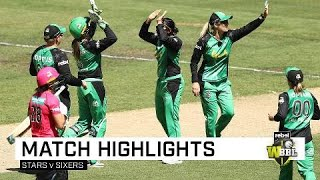 Stars upset Sixers to end WBBL|04 on a high | Rebel WBBL|04