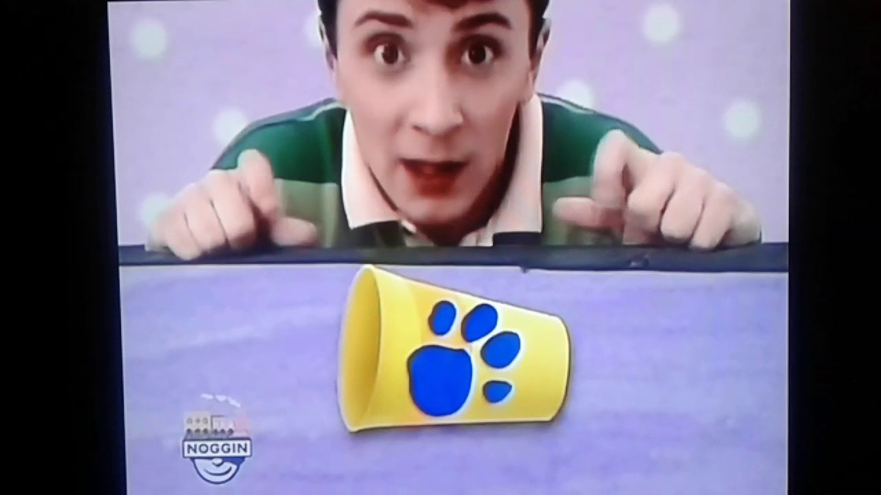 Blue's Clues Notebook Phrase from Snack Time - YouTube