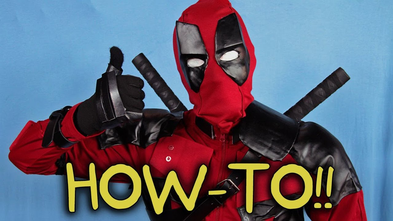Make your own deadpool costume homemade how to youtube make your own deadpool costume homemade how to solutioingenieria Choice Image