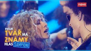 Eva Burešová a Marek Lambora jako Beyoncé a Bruno Mars | Tvoje tvář má známý hlas Šampioni