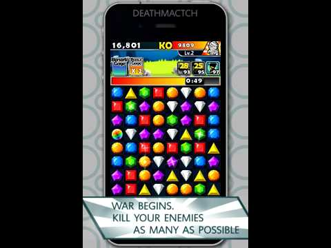 Jewel Fighter - iPhone/iPad Game Official Trailer