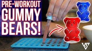 Best Pre Workout Recipe for a KILLER Workout (GUMMY BEARS!)