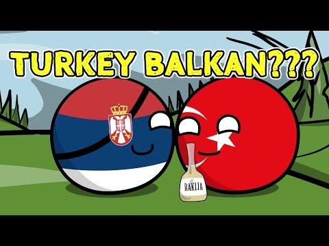 Can Turkey into Balkan - Countryballs