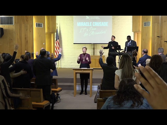 Pastor Nancy Dufresne DM Miracle Crusade Day 2