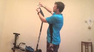 Хоккей. Как обматывать клюшку