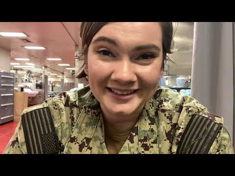Hospital Corpsman Aboard USNS Comfort - Family Connection