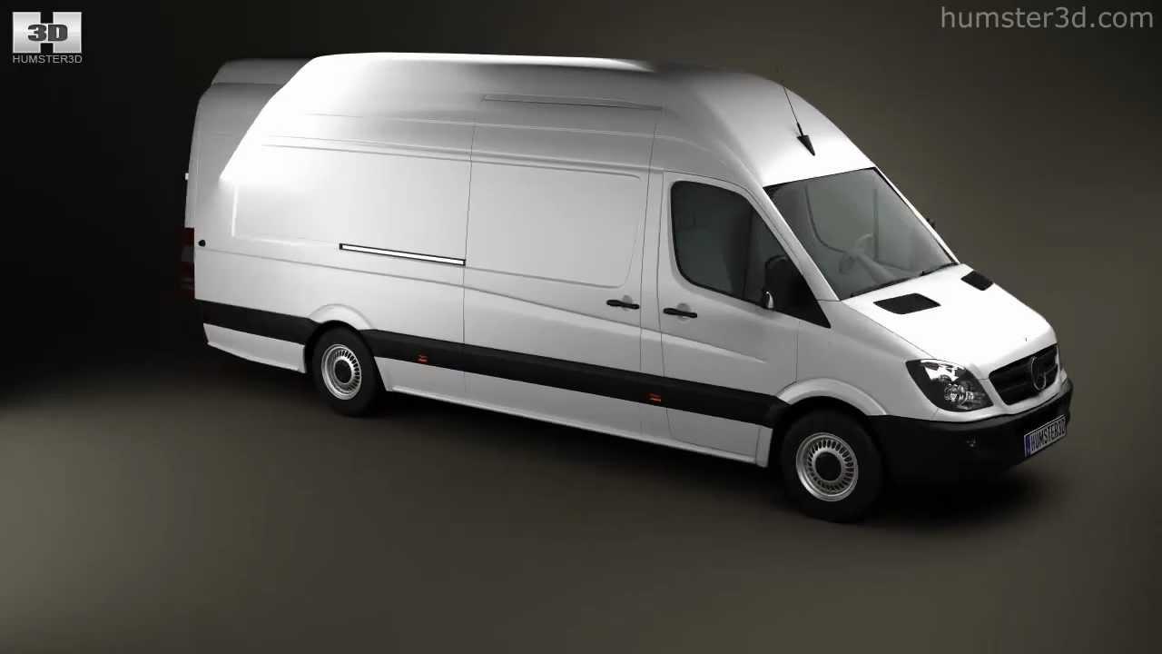 Mercedes benz sprinter panelvan 2011 by 3d model store for Mercedes benz panel van