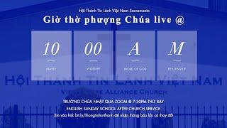 HTTLVN Sacramento   Ngày 14/03/2021   Chương trình thờ phượng   MSQN Hứa Trung Tín