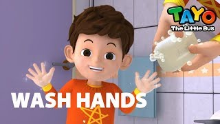 #StayhomewithTayo & Wash Your Hands with Tayo l Bye Bye Virus l Hand Washing is Fun!