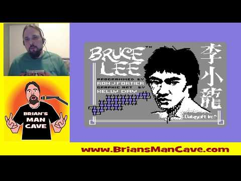 Bruce Lee on Commodore 64 | Live Play