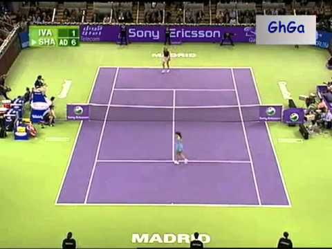 Maria Sharapova vs Ana Ivanovic 2007 WTA Tour Championships - Madrid Highlights