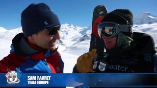 SSC15 Zermatt AAA - Day 2 - BackCountry Slopestyle Inspection