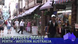 Hay Street Mall, Perth, Western Australia - Moving to Australia watch this