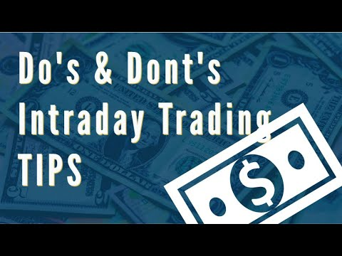 Tips for Intraday Trading in NSE - (in Hindi) - www.pivottrading.co.in - Sourabh Gandhi