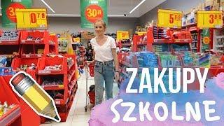 VLOG ZAKUPY SZKOLNE  back to school 2019