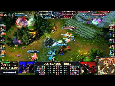 Day 1 - League Of Legends Championship Series Highlights