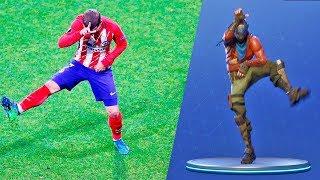 FORTNİTE TAP-DANCING FOOTBALLERS-dancing FOOTBALL PLAYERS
