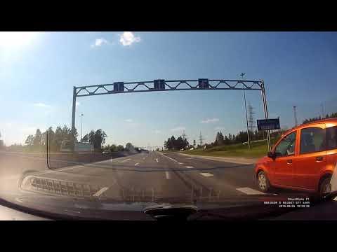 Пермь   Ижевск Автодорога с Видеорегистратора М7 Через Игру