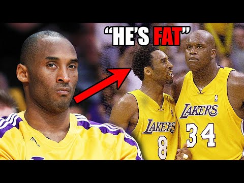 What You DON'T Know About The Kobe & Shaq Rivalry In The NBA (Ft. Fights, Trash Talk, Coaches)