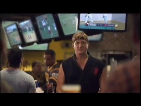 Buffalo Wild Wings William Zabka aka Johnny Karate Kid 1984
