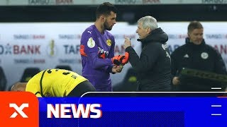 So reagiert Lucien Favre auf das Pokalaus | Borussia Dortmund - Werder Bremen 5:7 n. E. | DFB-Pokal