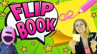 How to make a FLIP BOOK | Kids Crafts