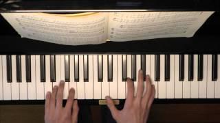 Piano - Schumann Album Jugend op 68 - Ein Choral no 4